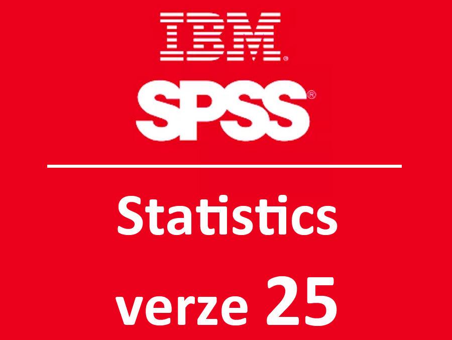 novinky IBM SPSS Statistics ve verzi 25